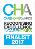 Care Home Awards Recognising Excellence in Care Homes Finalist 2017